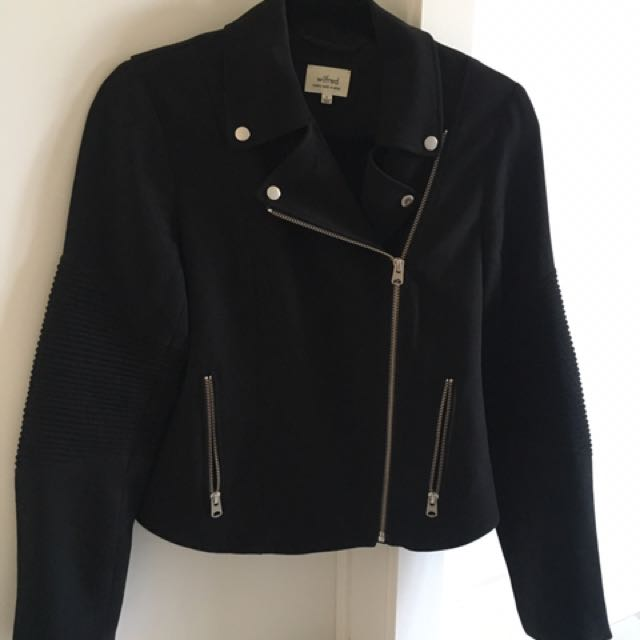 Wilfred Silk Moto Jacket