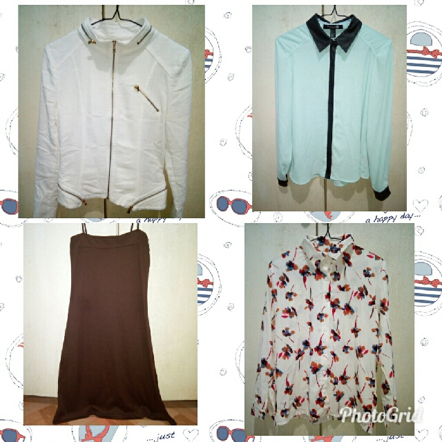 will upload new and preloved clothes later
