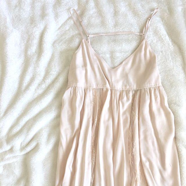 XXI • Nude pink dress