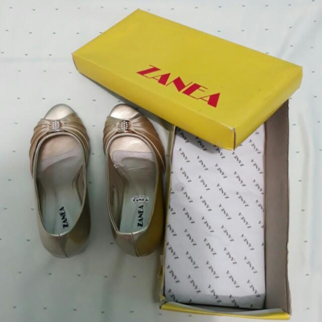 FreeShipping/ZANEA wedge shoes
