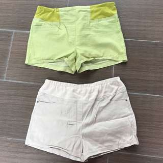 Maternity shorts from motherclub
