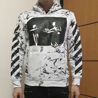 OFF WHITE replica sweater (kondisi 98%)