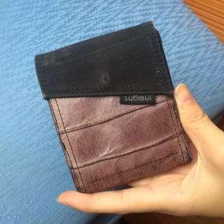 Insight black and purple wallet / dompet ungu hitam Insight