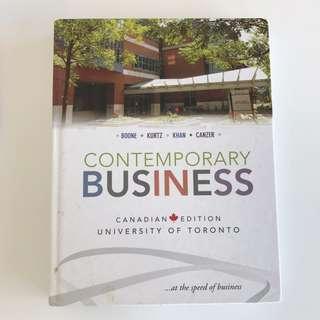 Rsm100 textbook contemporary business