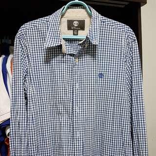 Men's long sleeve collar shirt