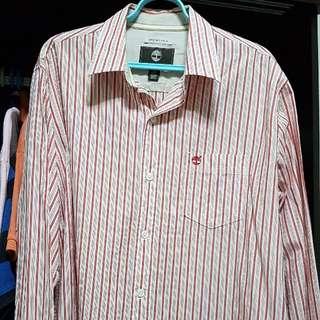 Men's long sleeves collar shirt