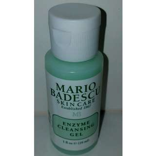 MARIO BADESCU Enzyme Cleansing Gel 29mls Brand New & Authentic
