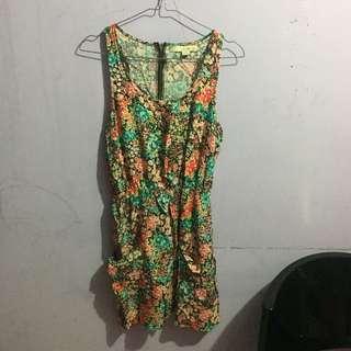BELI 2 GRATIS 1!!! Tropical Dress