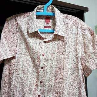 Men's short sleeves collar shirt