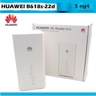 HUAWEI B618 4G ULTRA SPEED ROUTER SIM CARD CAT 11 600Mbps DL SPEED 64 WIFI SHARE
