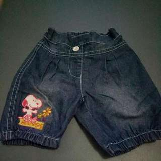 Jeans Snoopy Baby Size S