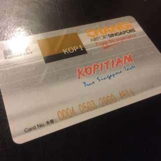 Changi Airport Kopitiam Card