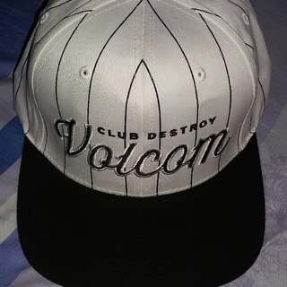 for sale volcom snapback hat by yupoong classic