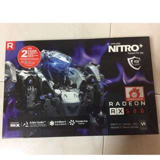 Want to sell Saphire Nitro+ RX580 4GB OC, buy in jun 2017, include box