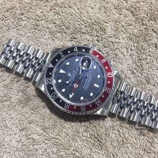 Rolex 16760 GMT MASTER II - FAT LADY (淨錶) 勞力士