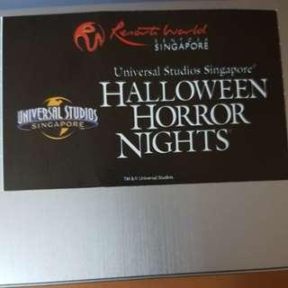 Hallowen horror night hhn 7 tickets
