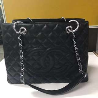 REPRICED CHANEL GST silver hardware