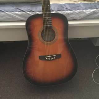 Bryden Guitar + accessories