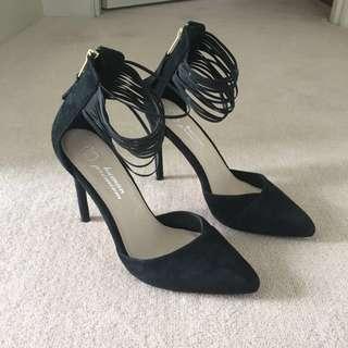 Black Heels - Size 36