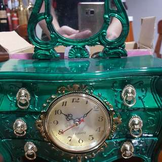 Jewelry box mirror