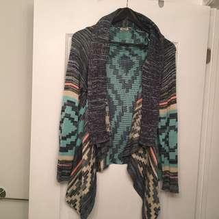 Beautiful Draped Knit Sweater