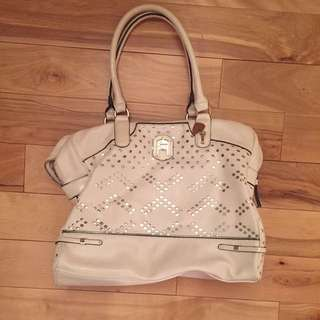 White Guess Handbag