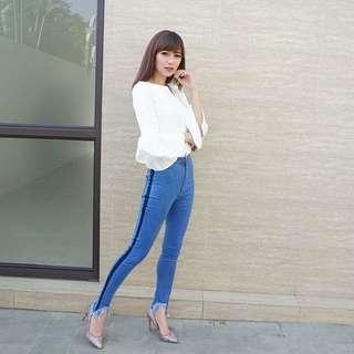 HW jeans F21 dark
