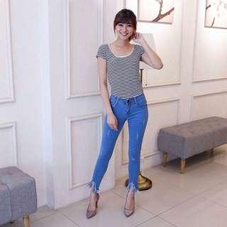 basic jeans zara light