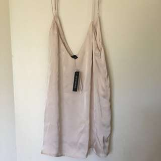 Glassons Champagne Silky Camisole