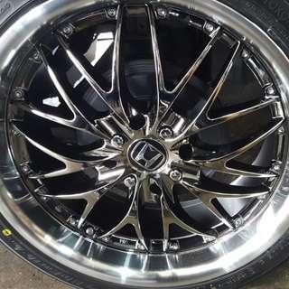 17 inch car sport rims