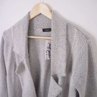 Glassons grey winter knit cardigan