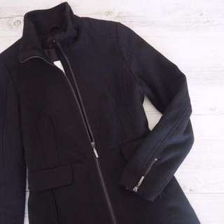 H&M black winter jacket