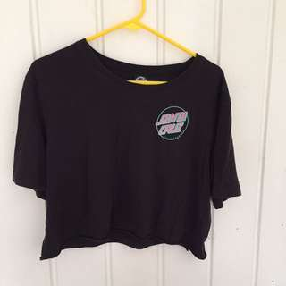 Santa Cruz cropped top