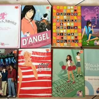 Novel remaja,  @hrg 15-20rb