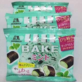 日本🇯🇵 森永 炭烤巧克力 最新口味 薄荷巧克力冰淇淋口味