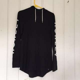 Hurley long sleeve t-shirt dress/ big t-shirt