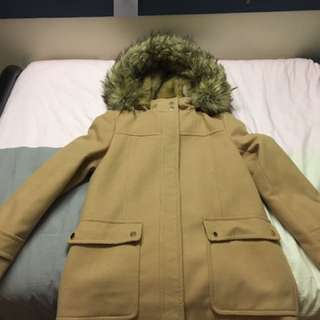 Size 10 forever new coat