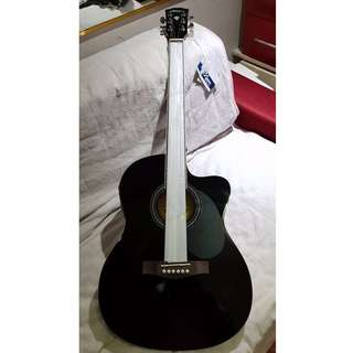 Lyon by Washburn Slim Acoustic guitar with pickup