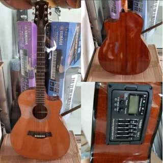 Taiga California Acoustic Guitar with tuner pickup