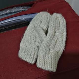Wool Knitted Glove