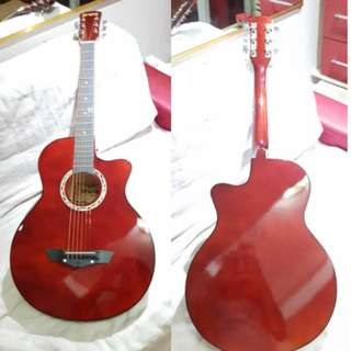 Arena Acoustic guitar (red)