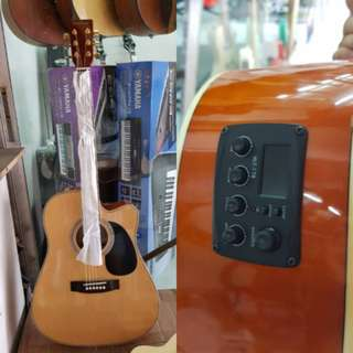 Fernando Acoustic Guitar with tuner pickup