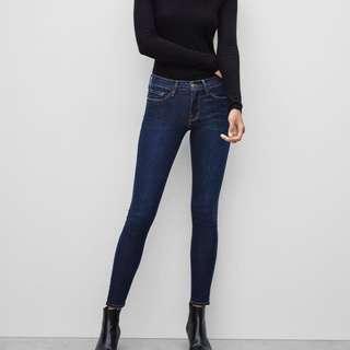 Aritzia Frame Le Skinny de Jeanne Size 25