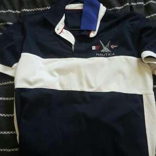nautica tshirt polo