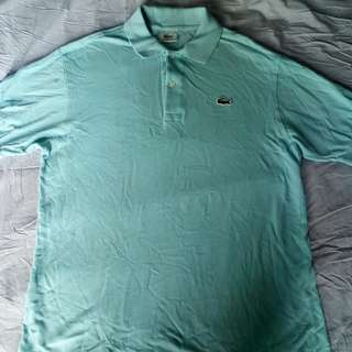 Authentic preloved Lacoste Shirt - Light Blue
