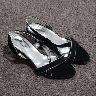 Hi Quality - Black Sandals