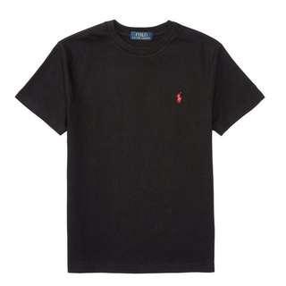 Ralph Lauren 青年版t-shirt黑色