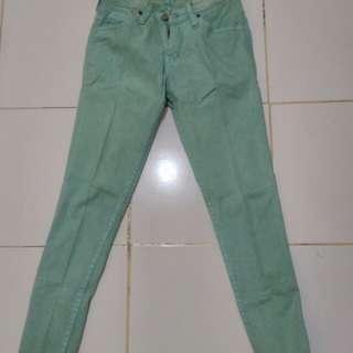 Celana American Jeans hijau tosca#prelovedkusayang