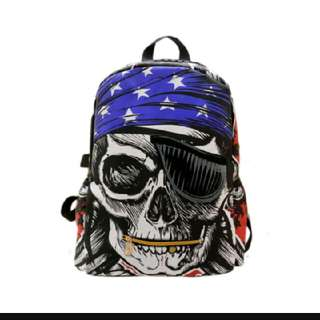 Pirates Skull Bag
