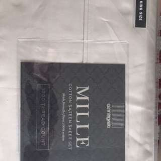 Canningvale Mille King Sheet set